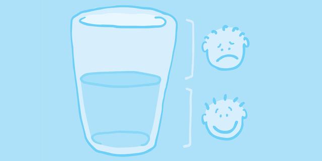"""Résultat de recherche d'images pour """"verre à moitié plein à moitié vide"""""""
