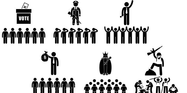 Resultat d'imatges de democracia, aristocracia y monarquía