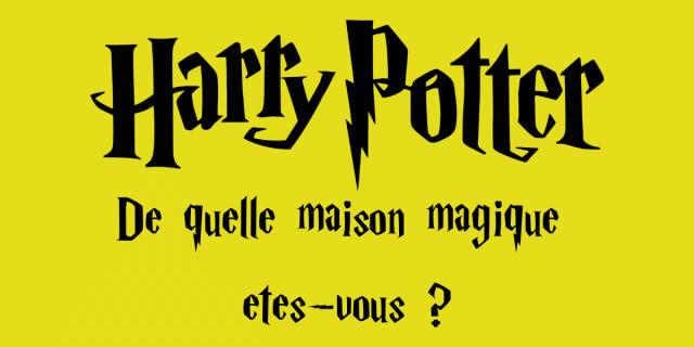 Harry Potter - De quelle maison magique êtes-vous ?  OpenAsk